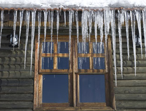 ice dam prevention with proper insulation