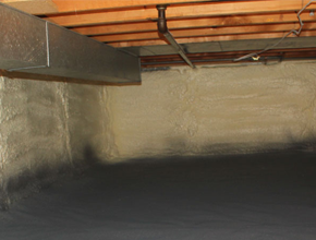 crawl space spray insulation for Tennessee